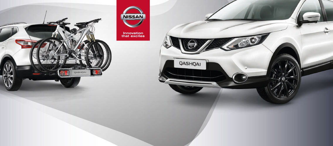 Make the Nissan Qashqai experience even nicer with essential accessories.