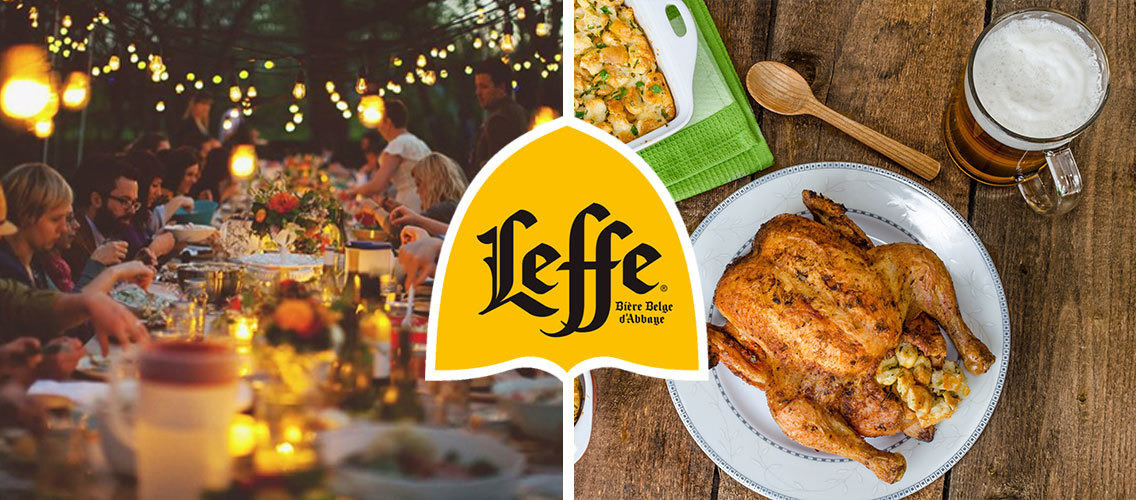 Making the Leffe experience perfect to bond with closed ones over a meal!