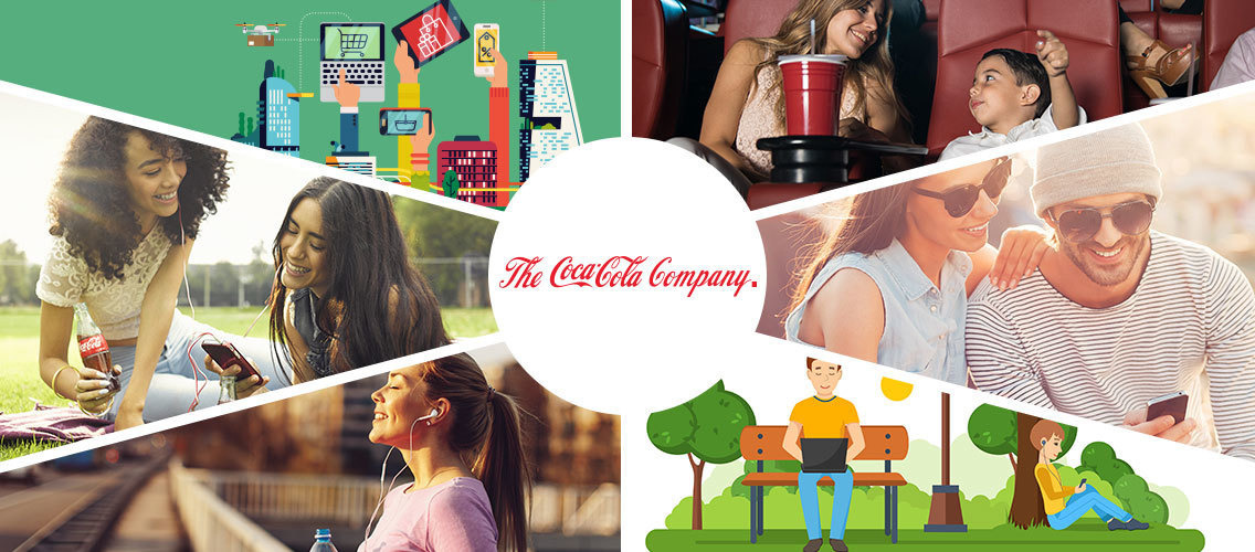 Connect the Coca-Cola Company to its consumers in 2025