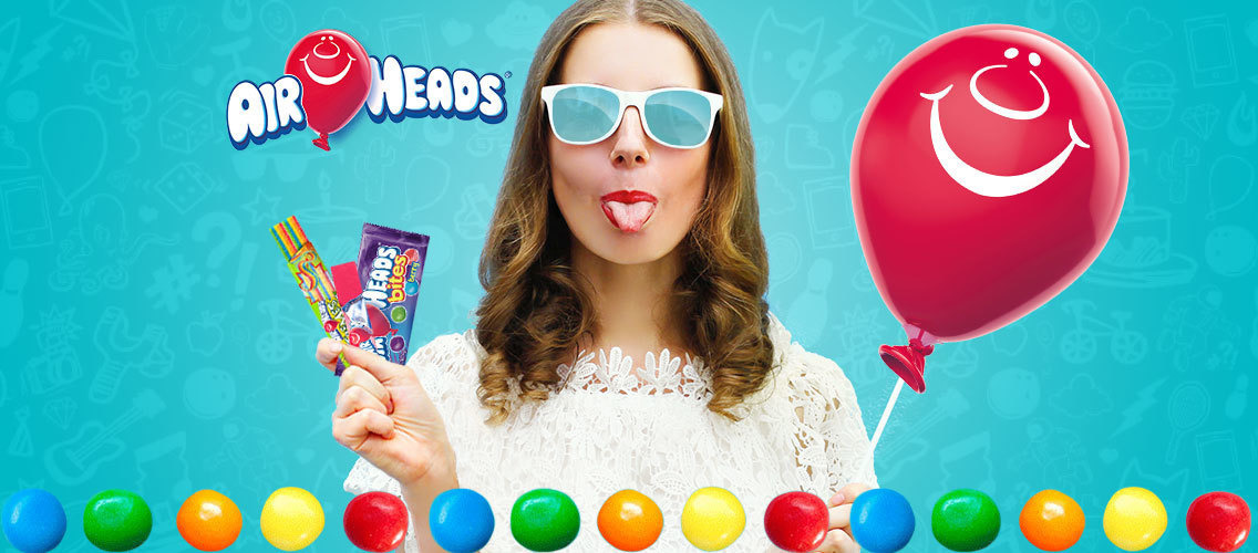 Invent the next Airheads candy for teens and young adults!
