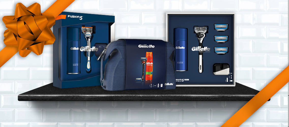What would be your idea for the best ever collection of Gillette gift-sets?