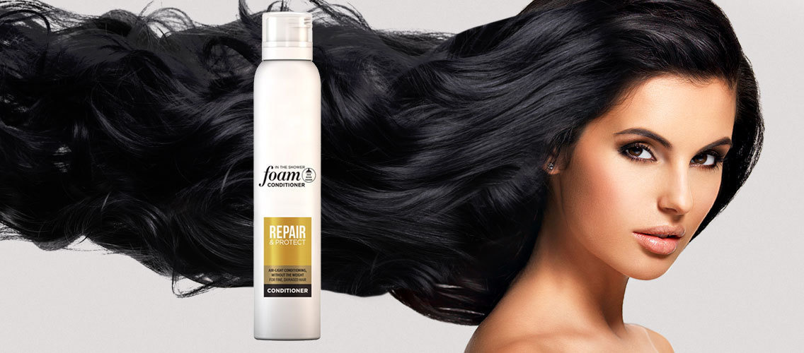 Create visuals to help differentiate a revolutionary new foam conditioner
