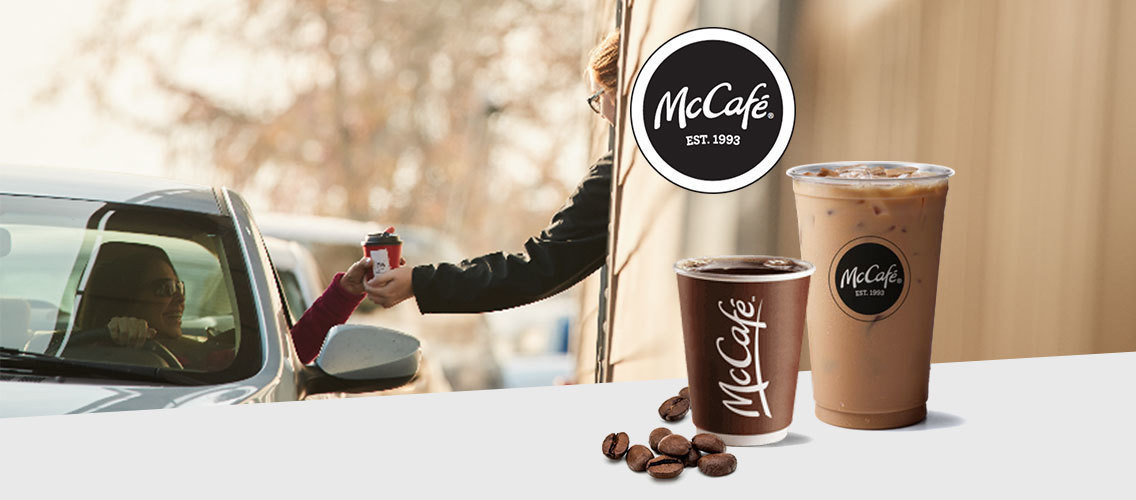 Name McCafé's brewed coffee range in the US