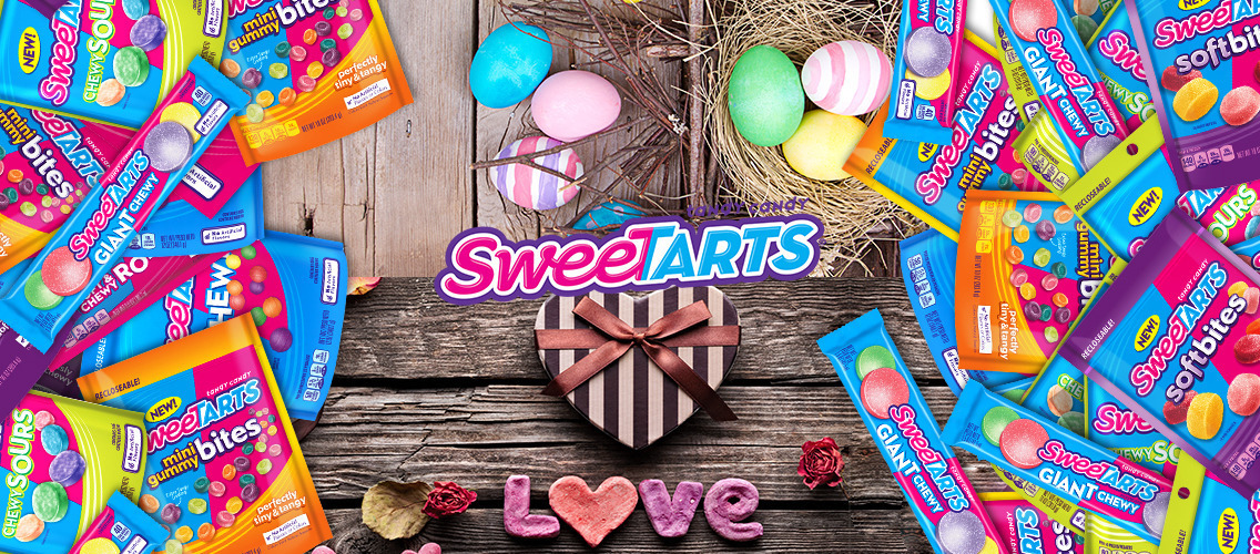Make everyone crave SweeTARTS for St Valentine's Day and Easter.