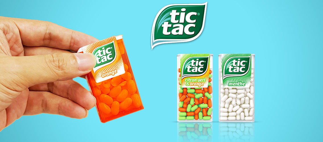 Convince people that Tic Tac is your daily companion to refresh your breath and your mood.