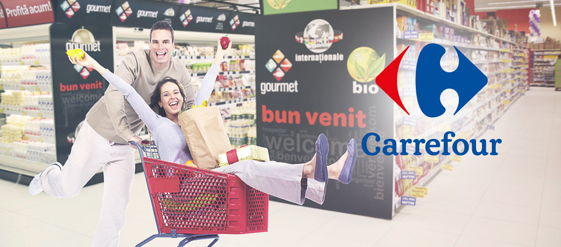 Bring to life the great shopping experience that people love, offered by Carrefour!