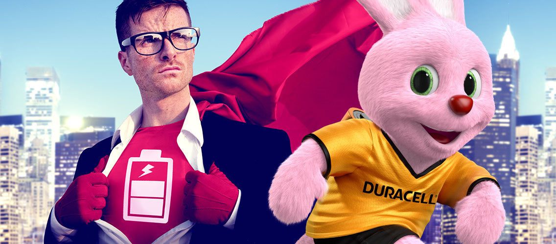 Find new impactful ways to show consumers that Duracell is the best value for money.