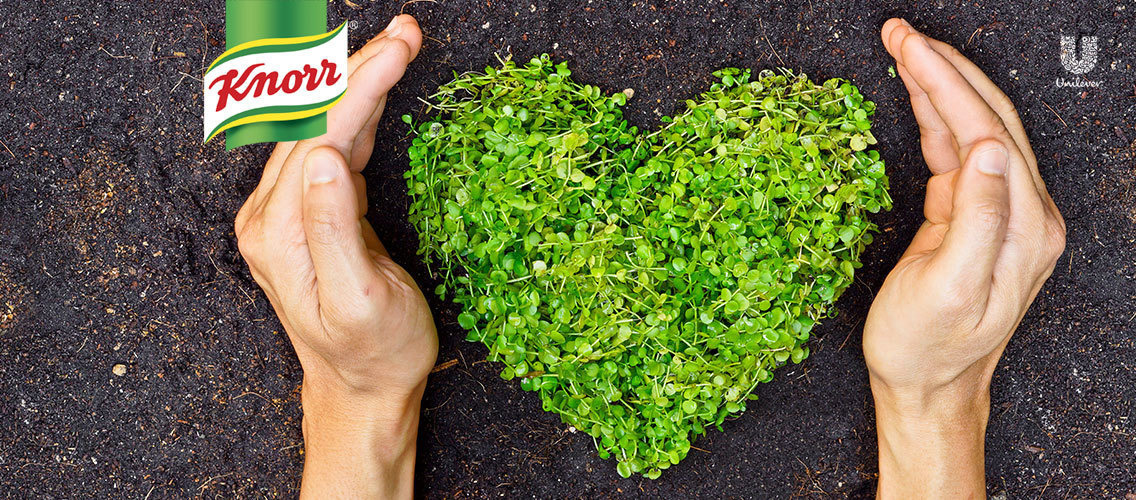 Spread the message that the root of delicious Knorr soups is farming that loves the soil.