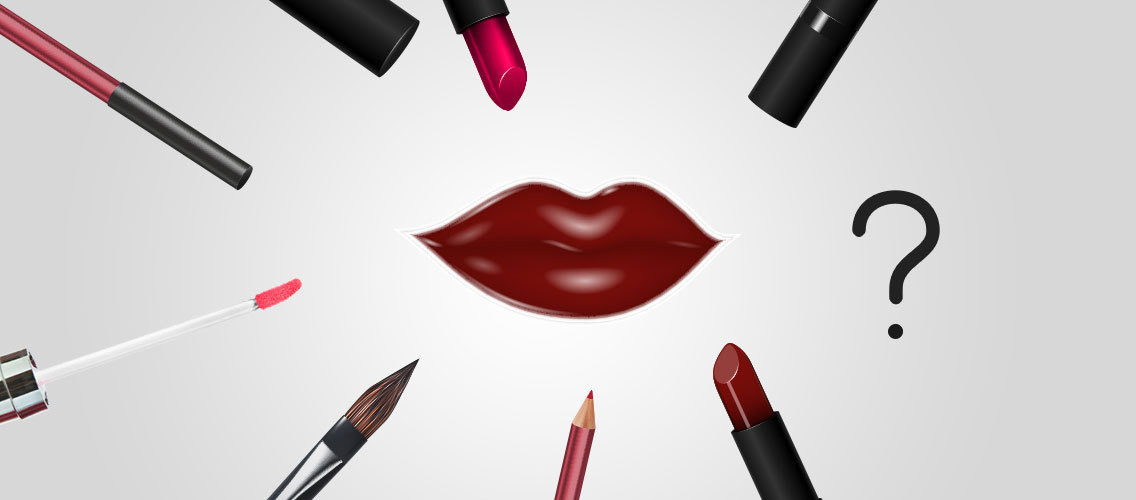 Invent your ideal make-up for lips beauty.