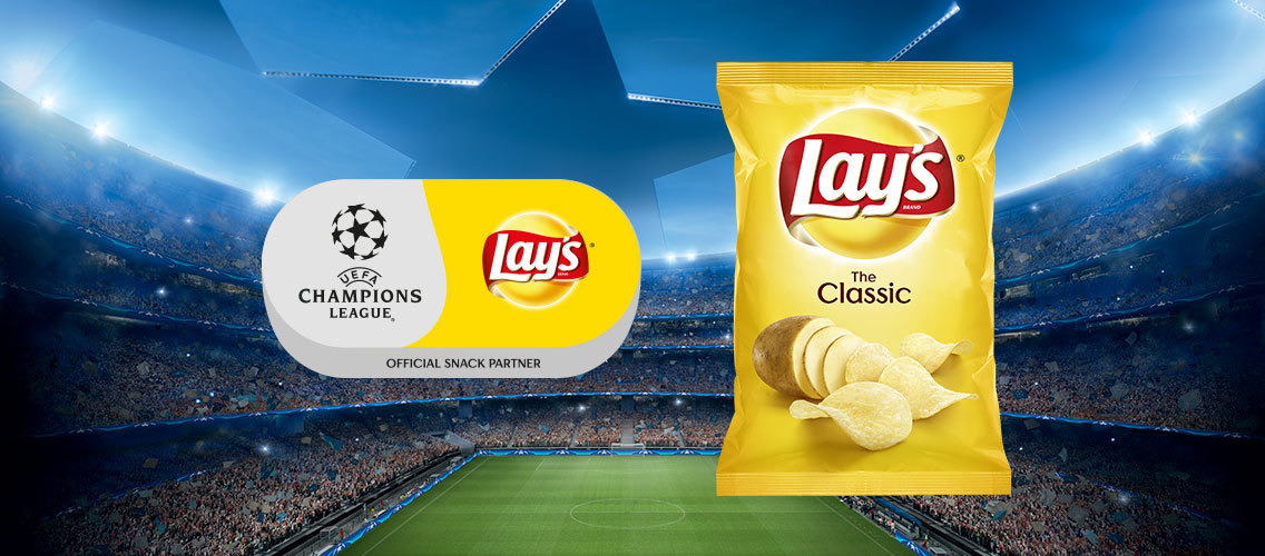 Have a good time with Lay's during the UEFA Champions League!