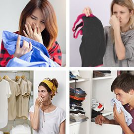 Remove odors in laundry!