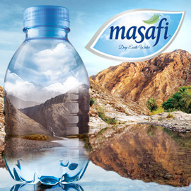 Masafi - Deep earth water in a bottle