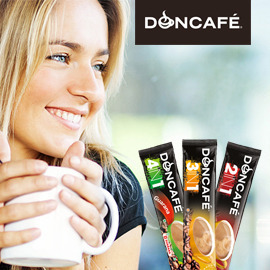Design du packaging Doncafé