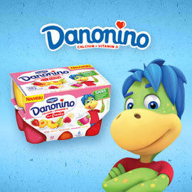 Danonino – Edutainment Packaging