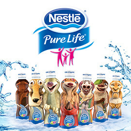 Nestlé Pure Life - Bottle Design