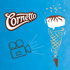 Cornetto video – When Creamy met Crunchy