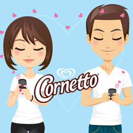 Cornetto - Dive into love