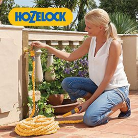 Innovative Garden Hose Storage Solution