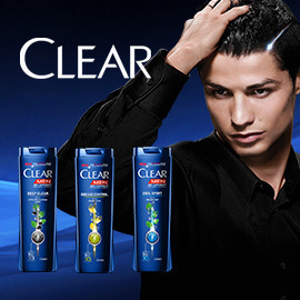 CLEAR MEN – Shampoo Label Design