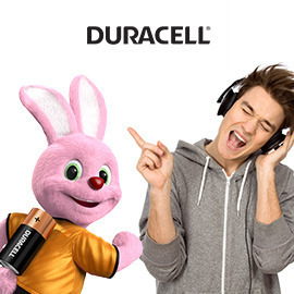 Impresión de Running on Duracell