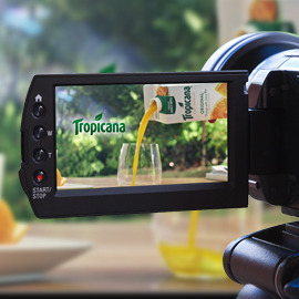 Tropicana: Pitch the next video