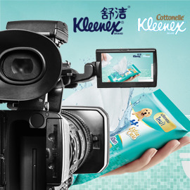 Kleenex Moist Toilet Tissue Video