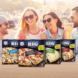 Nestlé: WAGNER BIG PIZZA