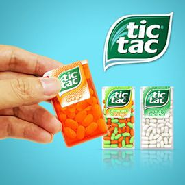 Tic Tac: freshness & pleasure