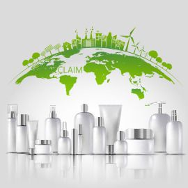 A claim for a sustainable skincare pack