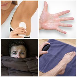 Solutions for Excessive Sweating