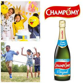 Champomy Label Design