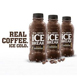 REAL & STRONG ice coffee communication/Big Idea