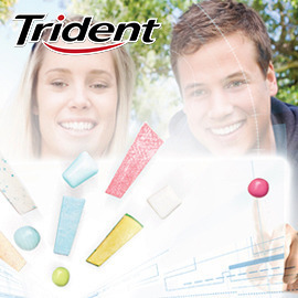 Trident - Le chewing-gum virtuel