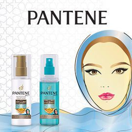 Pantene Revitalize Collection for veiled hair