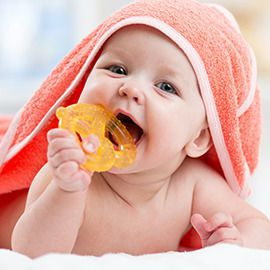 Sweet bites: new teethers for babies