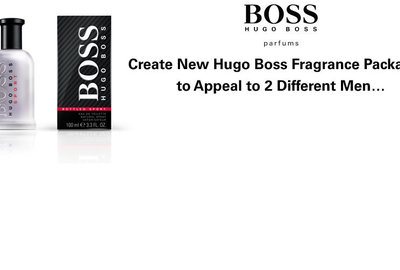 Hugo Boss Packaging
