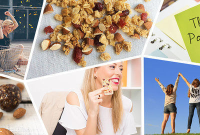 Brand new Healthy snacks: harmony