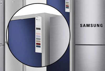 Samsung On Fridge Display
