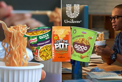 Unilever: instant hot snack innovation