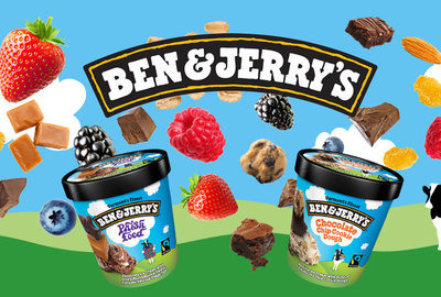 O novo supersorvete de Ben & Jerry's