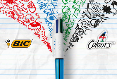 Bic 4Colours' coolness