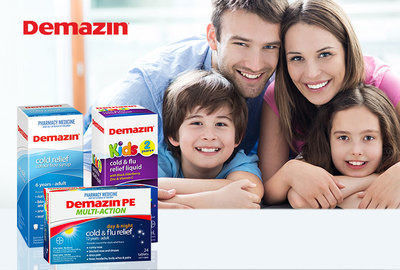 Demazin - Kick Cold or Flu Symptoms