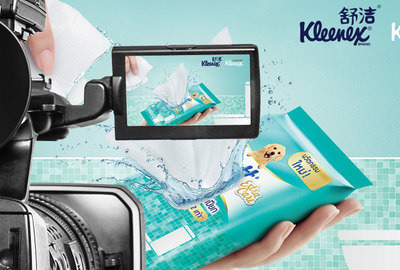 Vídeo de Kleenex Moist Toilet Tissue