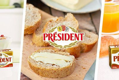 Reinvent Président Butter for Breakfast