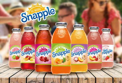 Snapple Juice Beverages Naming