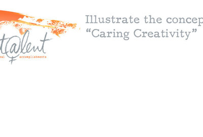 "Illustrate the concept of ""Caring Creativity"""