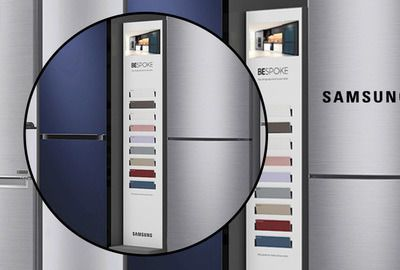 Samsung Fridge Freestanding Display