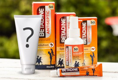 New Betadine Gel Product