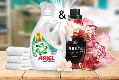 Downy & ARIEL – Perfect combination for your laundry