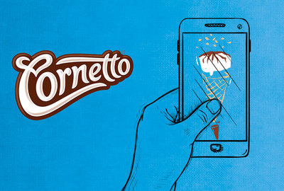 Cornetto social media – When Creamy met Crunchy
